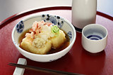 agedashi tofu, japanese food