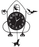 Wall clock for Halloween