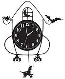 Wall clock for Halloween