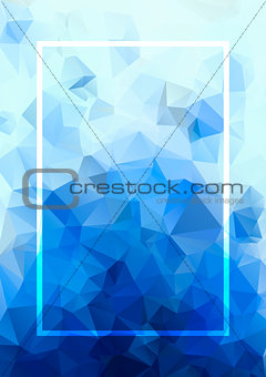 Abstract background. Geometric abstract background