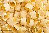 uncooked pasta calamarata