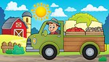 Farm truck theme image 2