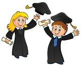 Graduation theme image 1