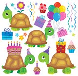 Party turtles theme image 2