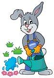 Rabbit gardener theme image 3