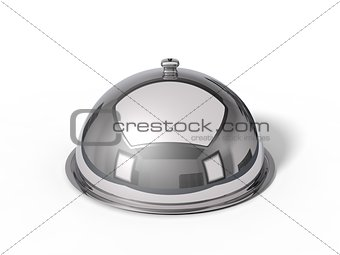 3d illustration of Restaurant cloche.