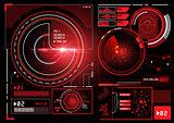 futuristic Information Interface