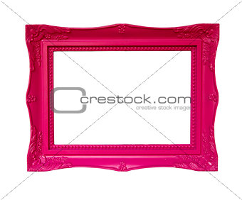 Antique pink frame