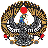 falcon symbol of Horus