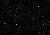 Night Sky with Stars. Space Background.