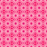 Pink pattern with lines and circles