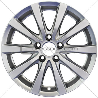 Aluminum Wheel Cutout