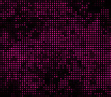 Vector illustration with four halftone patterns. bstract vector background.