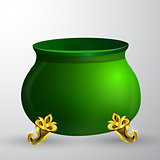 Leprechaun pot isolated