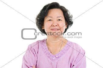 Portrait of senior adult woman