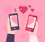 Mobile Valentine day.