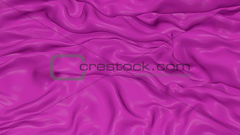 3D Illustration Abstract Purple Background