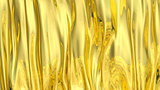 3D Illustration Abstract Gold Background