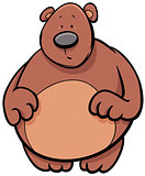 bear animal cartoon character
