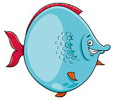 big fish cartoon character