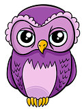 owl bird animal character