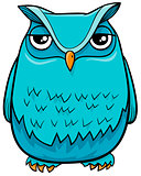 owl bird cartoon character