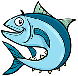 tuna fish cartoon character