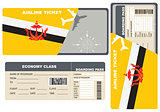 Economy class ticket for Brunei