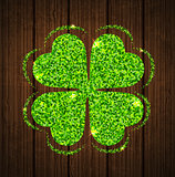 Abstract clover leaf