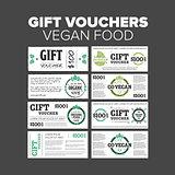 Gift vouchers organic food