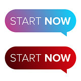 Start Now speech bubble