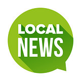 Local News sign speech bubble
