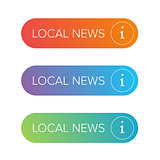 Local News sign button set