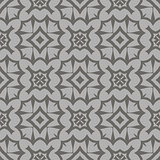 Decorative Retro Grey Seamless Pattern