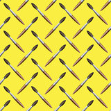 Paintbrush Seamless Pattern