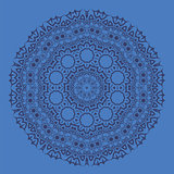 Blue Ornamental Pattern
