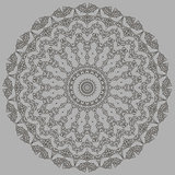 Grey Oriental Geometric Ornament