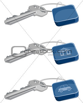 Three keys set