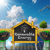 Project of Ecological House - Renewable Energy