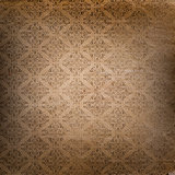 Grunge background with Damask style pattern