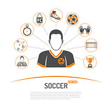 soccer concept illustration