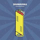 Shawarma sandwich, Grill, Meat, Restaurant Menu