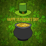 Saint Patrick's Day Vector Background