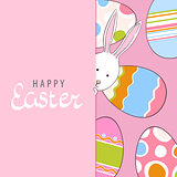Adorable easter postrcard