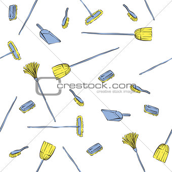 Cleaning tools seamless