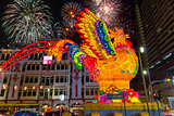 Singapore Chinatown 2017 Lunar New Year Fireworks