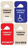 Set parking permits