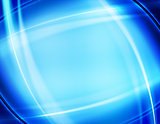 design of blue abstract background