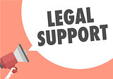 Loudspeaker Legal Support