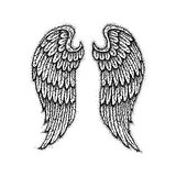 Angel Wings Dotwork